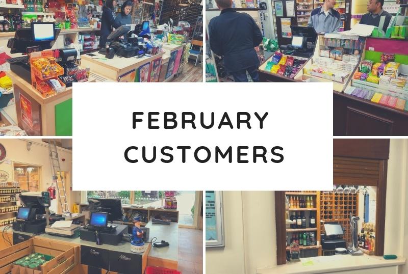 February Customers