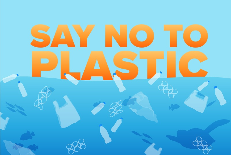 Say NO To Plastic And YES To Saving Our Ocean
