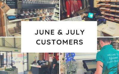 June & July Customers