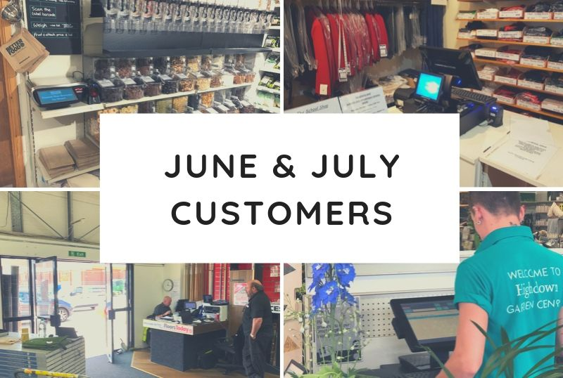 June & July Customers