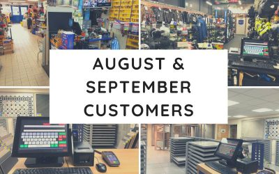 August & September Customers