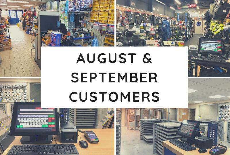 August & September Customers