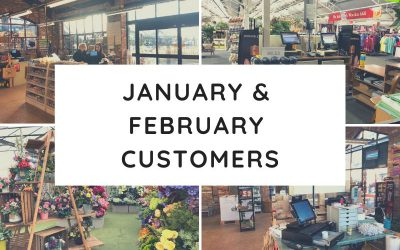 January & February Customers